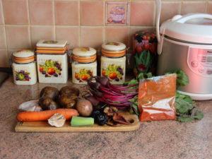 продукти на борщ