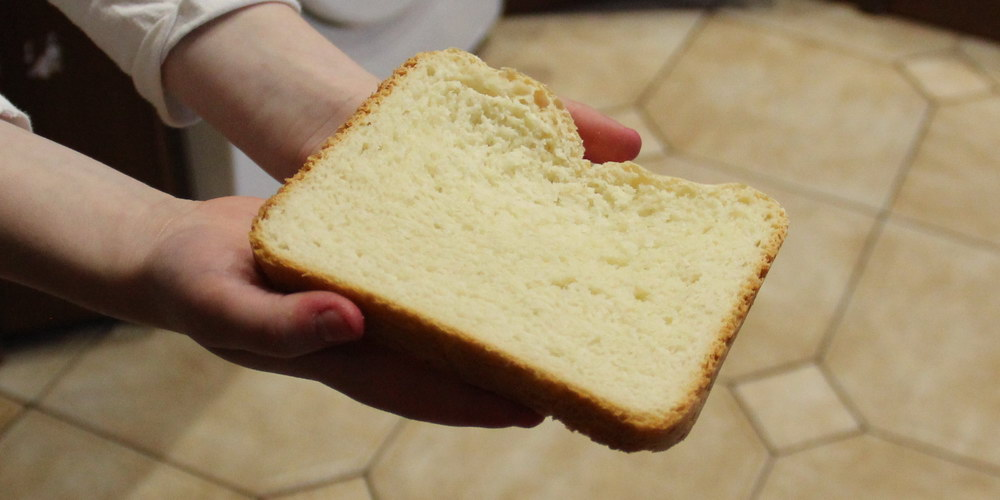 Хліб-батон у хлібопічці
