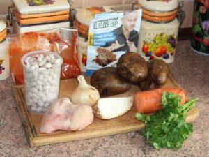 продукти на суп