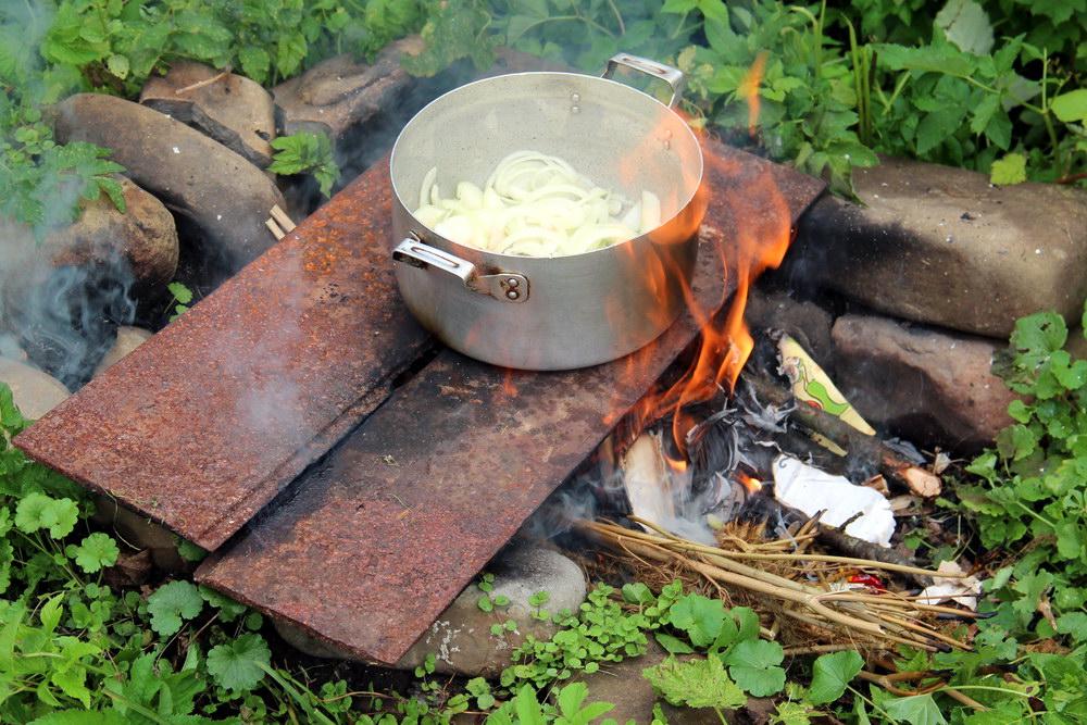 приготування бограча на природі