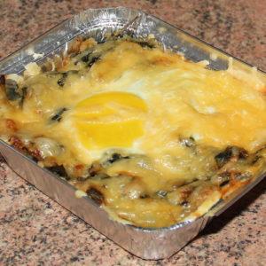 Яйця в «шпинатному гнізді»
