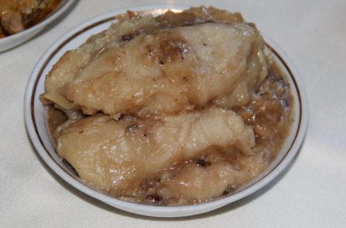 Голубці з тертою картоплею