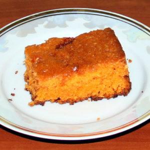 Пісний (дієтичний) пиріг на томатному соці