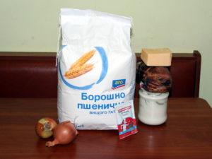 продукти для фламмкухена