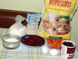 продукти на пиріг