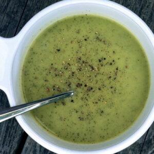 суп-пюре з кабачка