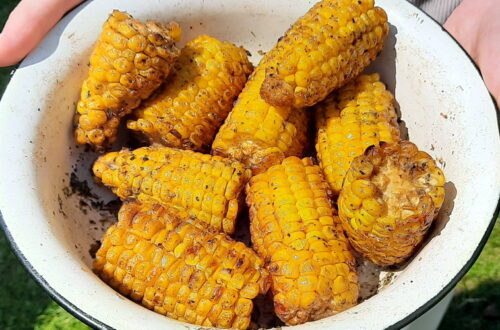 Кукурудза на мангалі