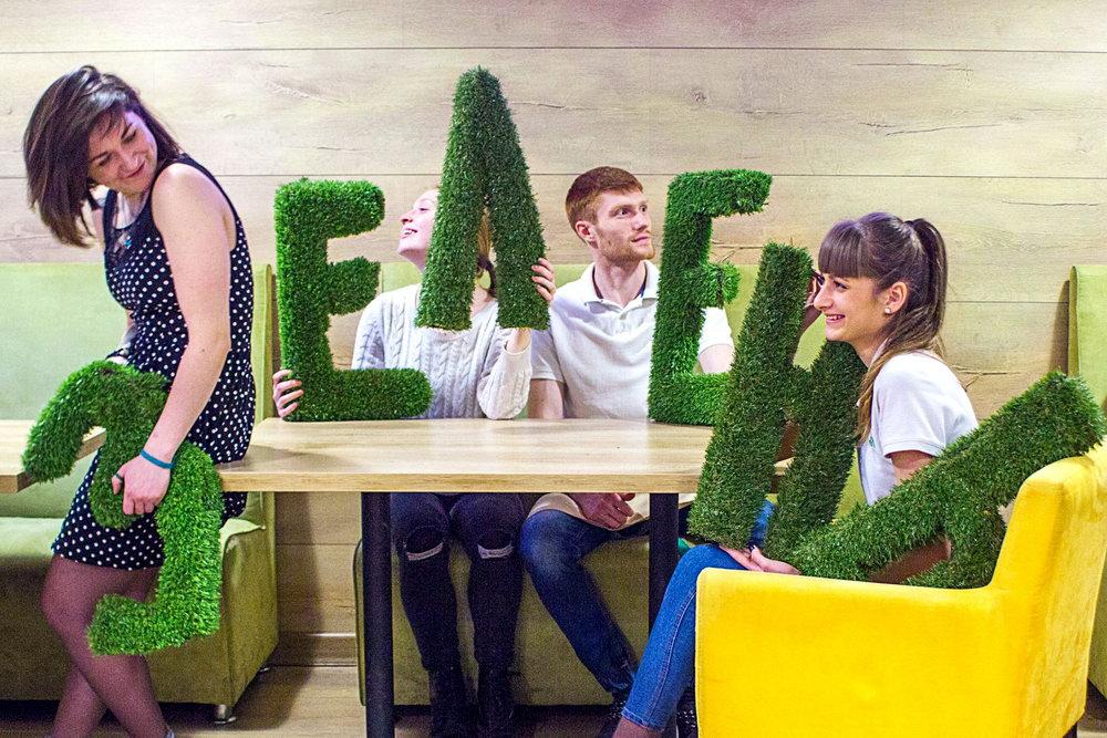 кафе «Зелень» в Одесі